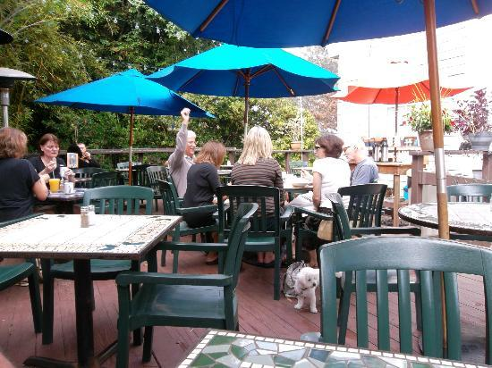 Stratford Court Cafe: The Courtyard