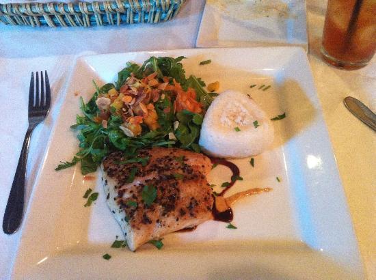 Mozaik: Generous serving of fresh fish