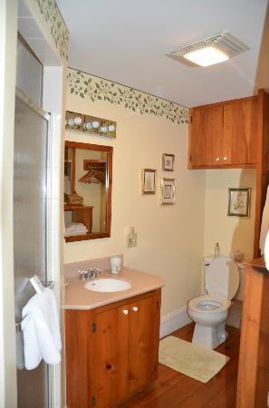 Camden Maine Stay Inn: Bathroom