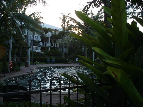 Cairns Beach Resort: From the pool