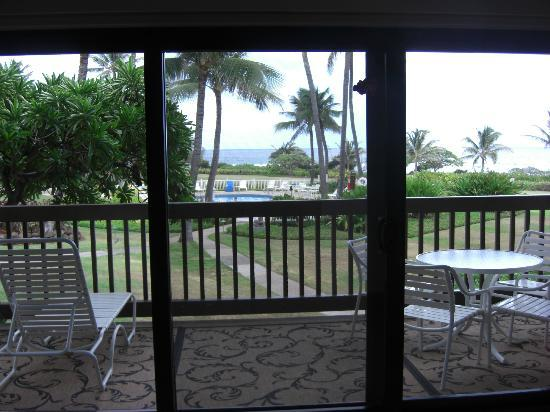 Castle Kaha Lani: View from the living room