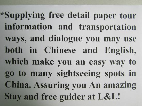 Suzhou Romantic L&L House: special service at L&L