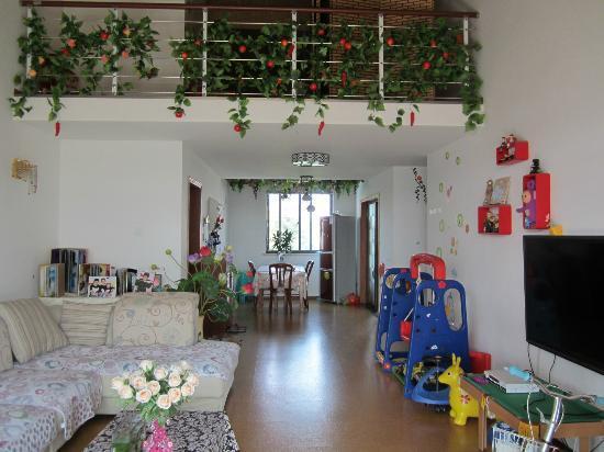 Suzhou Romantic L&L House: rural style living room