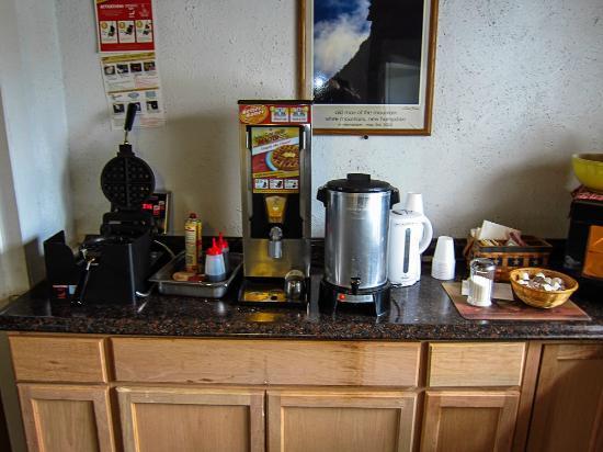 Stonybrook Motel & Lodge : Frühstück
