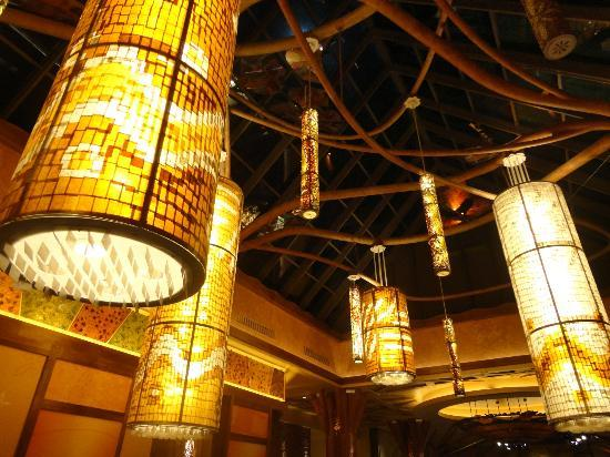 Beautiful ceilings at Mohegan Sun!