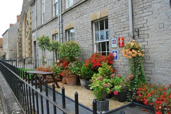 Magdalene House Guest Accommodation: The plants show the attention to detail by Debbie and Louis.