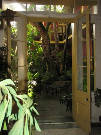 Olivier House Hotel: the view from the lobby