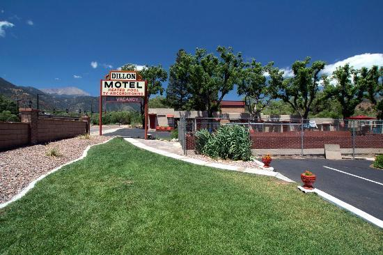 Dillon Motel: West view from motel