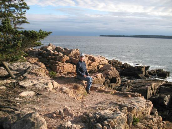 Ship Harbor Nature Trail: View at the coastal edge