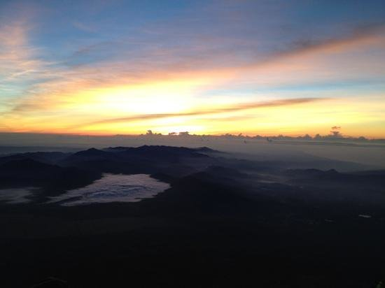 Chubu, Japan: 日の出