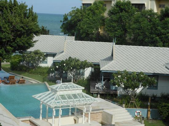 Devasom Hua Hin Resort : View from room