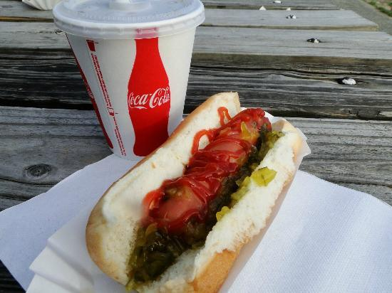 South Dennis, Nueva Jersey: Hot Dog