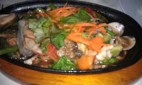 FCC Angkor: mix seafood