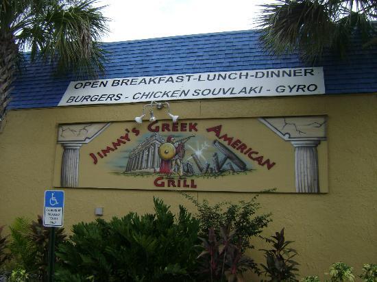 Jimmy's Greek American Grill : Outside