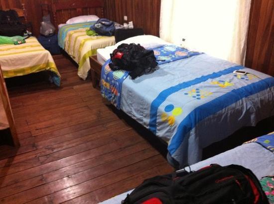 Hotel El Tucan: habitacion de 4