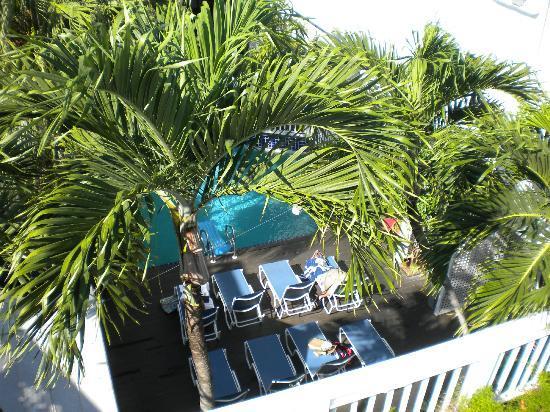 La Te Da Hotel: View from sunbathing deck