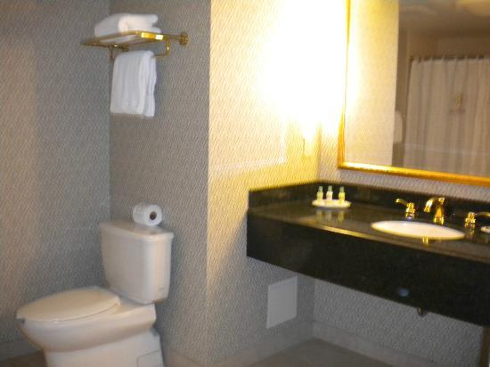 Riverside Hotel: Big bathroom!