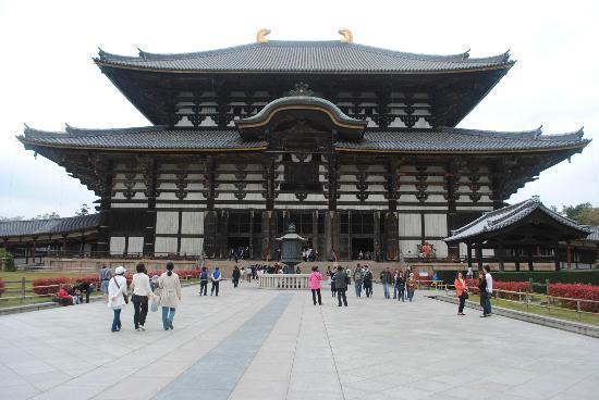 Todai-ji Temple: very famous place