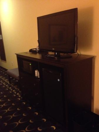 Holiday Inn Express & Suites Las Cruces North: TV with cable