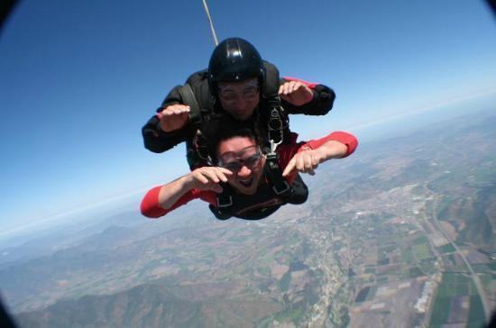 Skydiveandes: Bajando