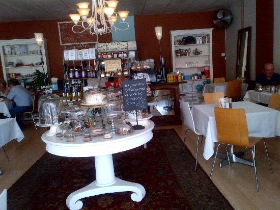 Cafe 1145: Selection of Cakes & Interior