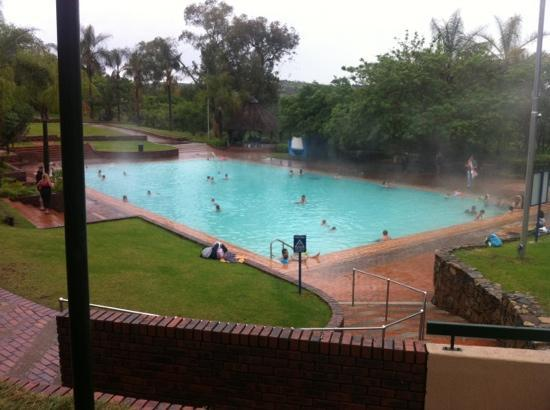 Badplaas, South Africa: open pool