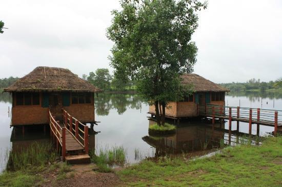 Pooja Farms : river huts