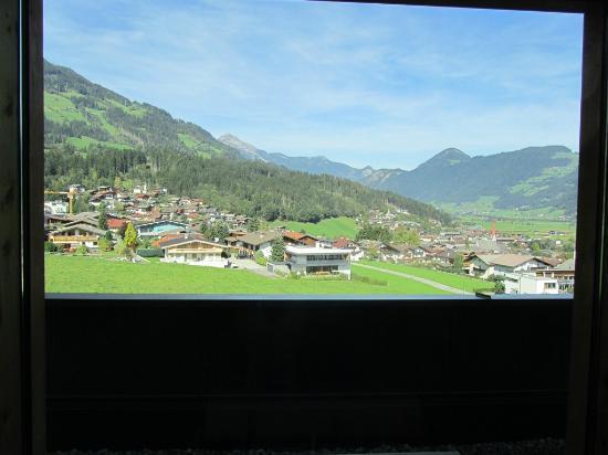 Alpina Zillertal: Ausblick von Biosauna