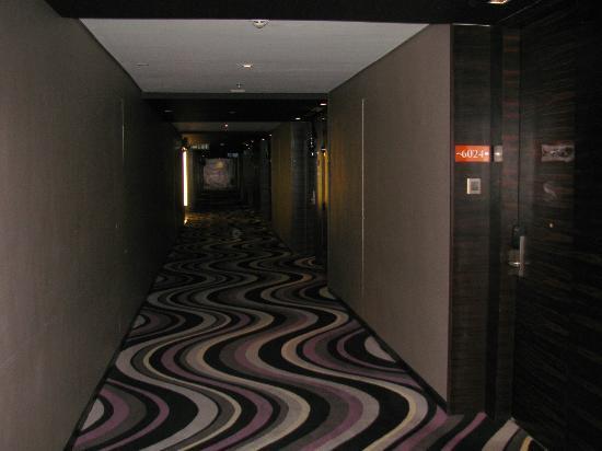 Horizon Hotel: hallway