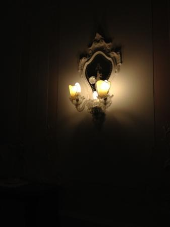 Locanda Novo: Lovely lights