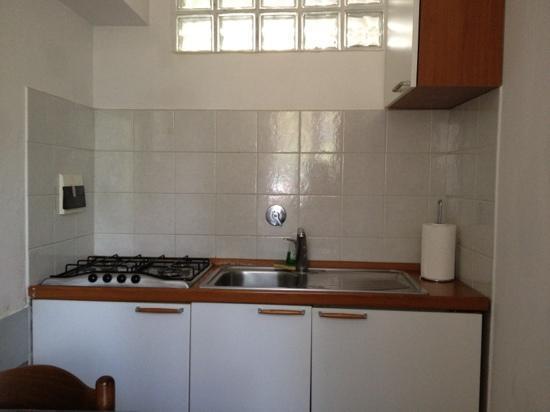 Residence I Colli : kitchenette