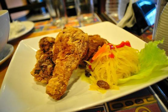 Fersal Hotel - Cubao: Oriental Chicken from Inn Cafe