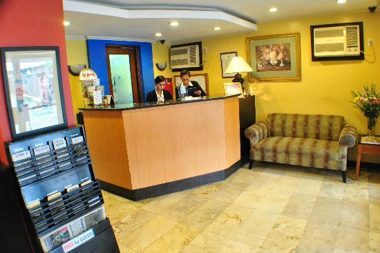 Fersal Hotel Annapolis - Cubao: Fersal Hotel-Annapolis Reception