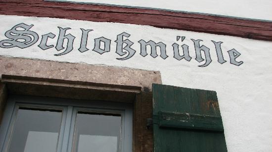 Gasthaus an der Schlossmuhle: Gasthaus an der Schlossmühle
