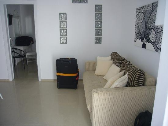 Paliomylos Spa Hotel: Sitting Room