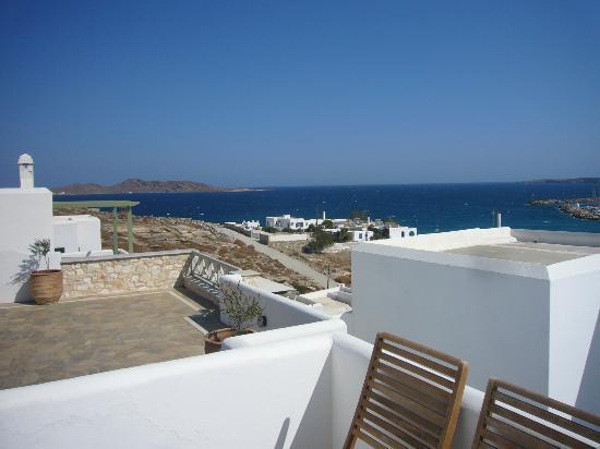 Paliomylos Spa Hotel: View from Balcony 