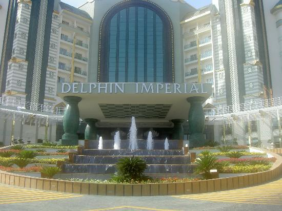 Delphin Imperial Hotel Lara: Front of hotel