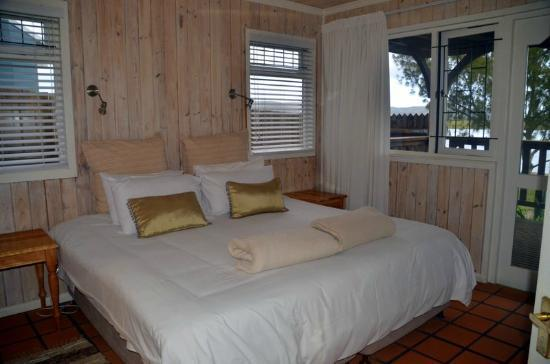 Knysna River Club: La camera da letto