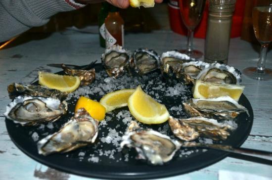 The Oyster Catcher: Il 1° dei 4 piatti che ci siamo mangiati!