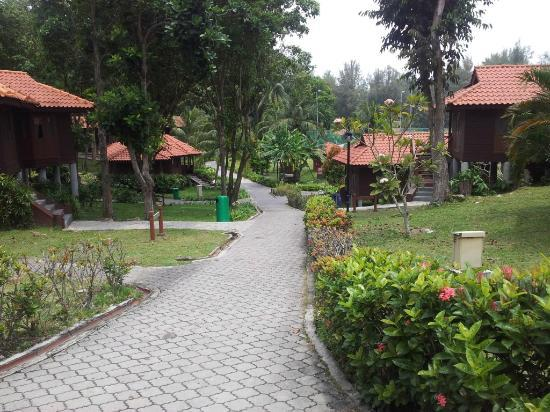 Sibu Island Resort: Villas