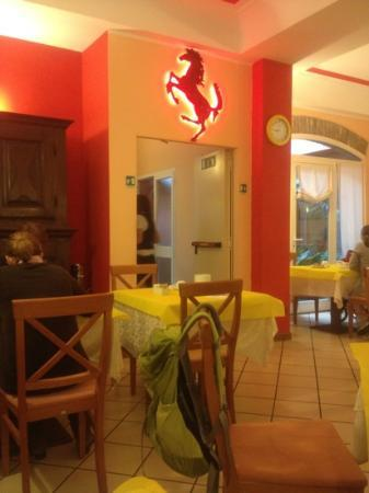 Hotel Europa : dinning room