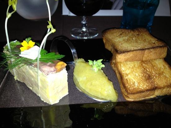Le Caveau des Lys: Foie gras
