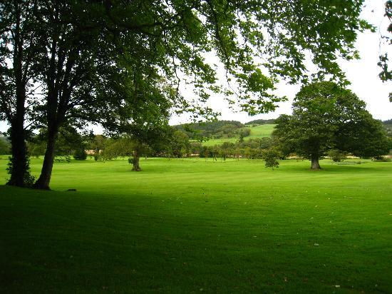 Faithlegg House Hotel & Golf Resort: A walk near the hotel overlooking the valley