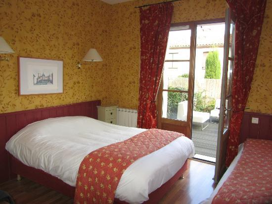 Hotel Montmorency: Our deluxe double room