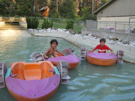 Whitefish KOA Paddleboats