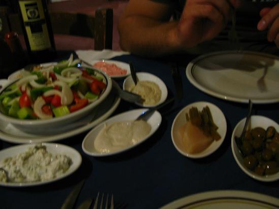 Napa House Restaurant: кипрское мезе