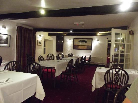 Bower House Inn: Breakfast room/evening meals