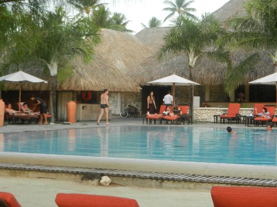 InterContinental Bora Bora Resort & Thalasso Spa: La piscina del hotel sin niños!!!!