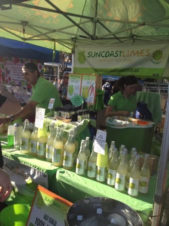 The Caloundra Street Fair : sweet as lime cordial and lime salt