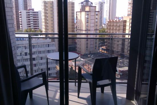 Flash Hotel Benidorm: vue du balcon